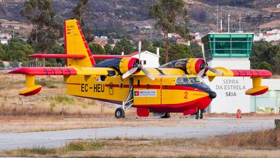EC-HEU - Canadair CL-215-1A10 - Compañía de Extinción General de Incendios (CEGISA)