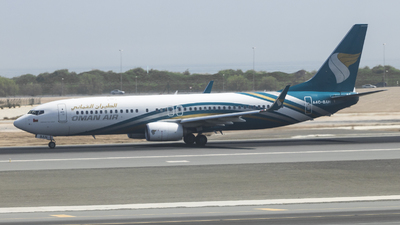 A picture of A4OBAH - Boeing 7378SH - Oman Air - © David Lee