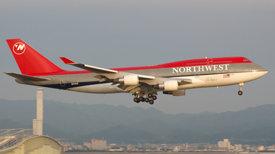N674US - Boeing 747-451 - Northwest Airlines