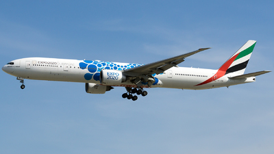 A picture of A6ENI - Boeing 77731H(ER) - Emirates - © Isaac Apolinario- Philippine Aviators