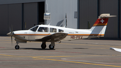 HB-PKV - Piper PA-28RT-201T Turbo Arrow IV - Private
