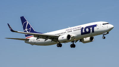 SP-LWD - Boeing 737-89P - LOT Polish Airlines
