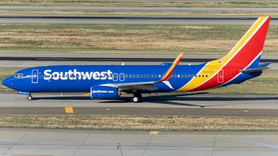 A picture of N8324A - Boeing 7378H4 - Southwest Airlines - © global_flyer1