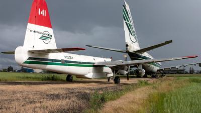 N202EV - Lockheed SP-2H Neptune - Evergreen International Airlines