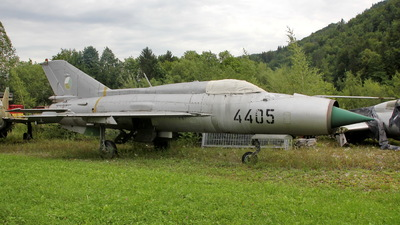 4405 - Mikoyan-Gurevich MiG-21MF Fishbed J - Czech Republic - Air Force