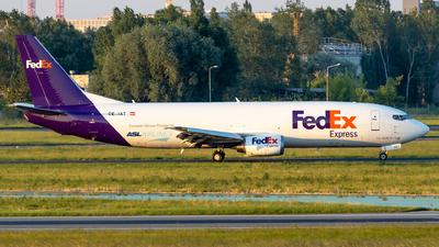 A picture of OEIAT - Boeing 7374M0(BDSF) - FedEx - © Grzesiek Krupa