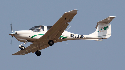 N873BR - Diamond DA-40 Diamond Star - EVA Flight Training Academy