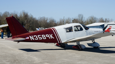 N3589K - Piper PA-28-140 Cherokee - Private