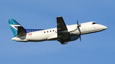C-GPCF - Saab 340B - WestJet Link (Pacific Coastal Airlines)