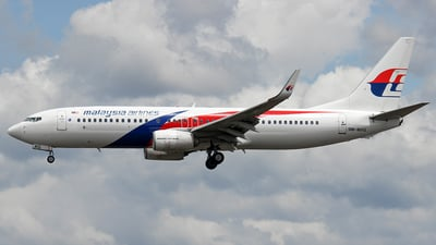 9M-MXG - Boeing 737-8H6 - Malaysia Airlines