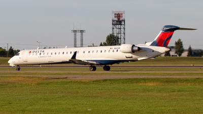A picture of N331PQ - Mitsubishi CRJ900LR - Delta Air Lines - © Jeremy D. Dando