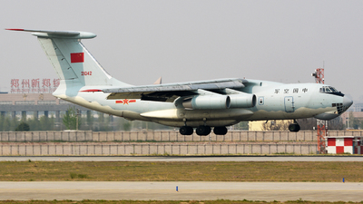 21042 - Ilyushin IL-76MD - China - Air Force