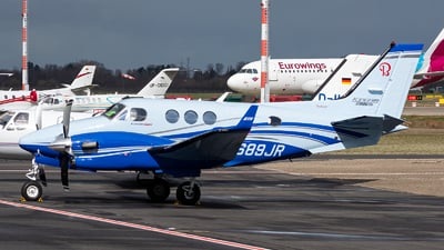 N689JR - Beechcraft C90GTi King Air - Private