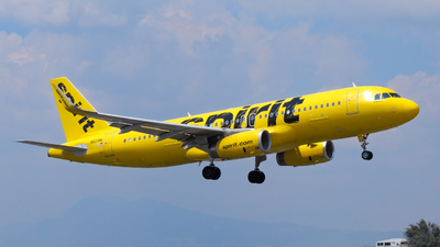 A picture of N623NK - Airbus A320232 - Spirit Airlines - © Daniel Hernández J.