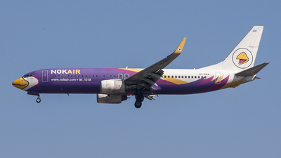 HS-DBA - Boeing 737-8AS - Nok Air