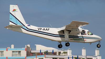 VP-AAF - Britten-Norman BN-2B-21 Islander - Trans Anguilla Airways