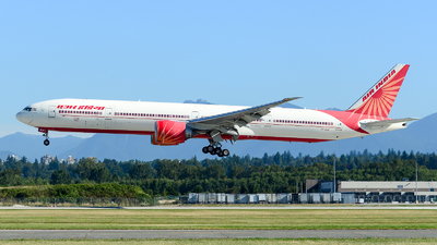 A picture of VTALK - Boeing 777337(ER) - Air India - © Chung Kwok