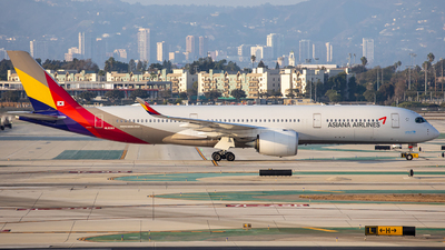 A picture of HL8360 - Airbus A350941 - Asiana Airlines - © Wes Loeffler