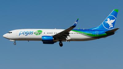 VP-BPY - Boeing 737-83N - Pegas Fly (Ikar)
