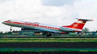 DDR-SCU - Tupolev Tu-134A - Interflug