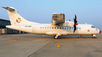 OY-RUF - ATR 42-500 - Danish Air Transport (DAT)