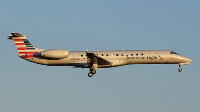 A picture of N661JA - Embraer ERJ145LR - American Airlines - © DJ Reed - OPShots Photo Team