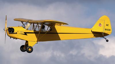 NC91939 - Piper J-3C-65 Cub - Private