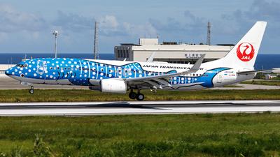 JA05RK - Boeing 737-8Q3 - Japan TransOcean Air (JTA)