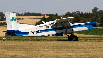 A picture of FHYNE - Pilatus PC6/B2H4 Turbo Porter - [631] - © Sotos