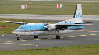 PH-KVC - Fokker 50 - KLM Cityhopper