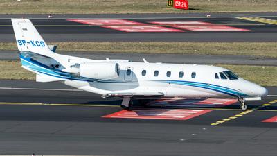 SP-KCS - Cessna 560XL Citation XLS - Blue Jet