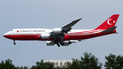 TC-TRK - Boeing 747-8ZV(BBJ) - Turkey - Government