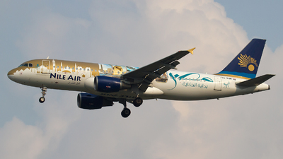 SU-BQM - Airbus A320-214 - Nile Air