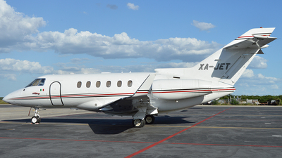 XA-JET - Raytheon Hawker 800XP - Private