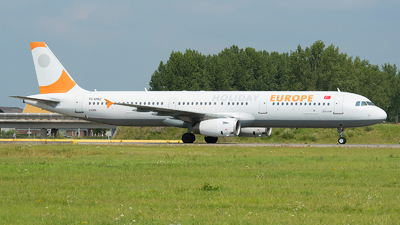 TC-OBZ - Airbus A321-231 - Holiday Europe