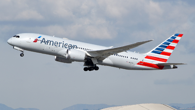 A picture of N817AN - Boeing 7878 Dreamliner - American Airlines - © Rocky Wang