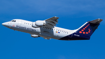 OO-DJR - British Aerospace Avro RJ85 - Brussels Airlines
