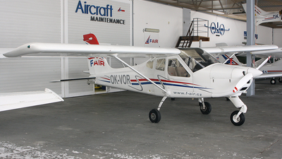 OK-VOR - Tecnam P92 Echo JS - Private