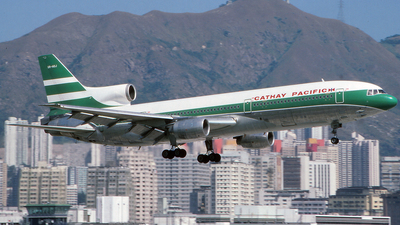 VR-HOJ - Lockheed L-1011-1 Tristar - Cathay Pacific Airways