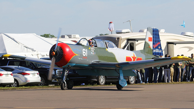 N61CJ - Nanchang CJ-6A - Private