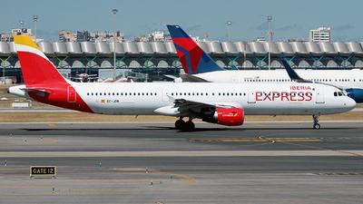 A picture of ECJDM - Airbus A321213 - Iberia Express - © Cesar Prieto