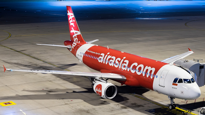 PK-AZK - Airbus A320-216 - Indonesia AirAsia
