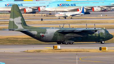 55-036 - Lockheed C-130H-30 Hercules - South Korea - Air Force