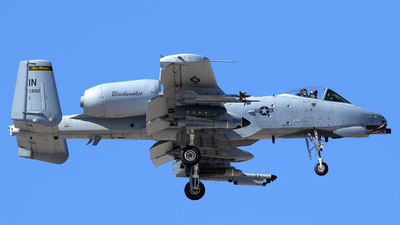 78-0692 - Fairchild A-10C Thunderbolt II - United States - US Air Force (USAF)