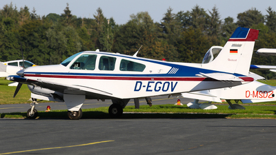 D-EGOV - Beechcraft F33A Bonanza - Private
