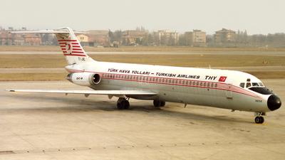 TC-JBL - McDonnell Douglas DC-9-32 - Turkish Airlines