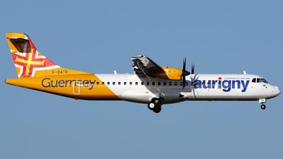 G-OATR - ATR 72-212A(600) - Aurigny Air Services
