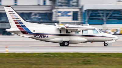 N105WM - Mitsubishi MU-2B-36A - Private