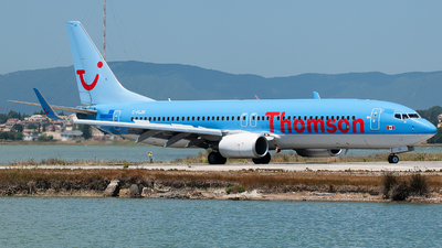 C-FLZR - Boeing 737-8K5 - Thomson Airways
