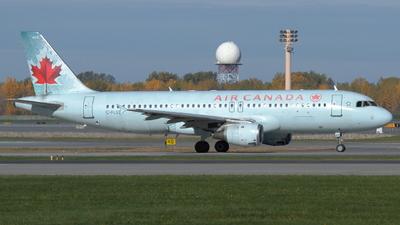 C-FLSS - Airbus A320-211 - Air Canada